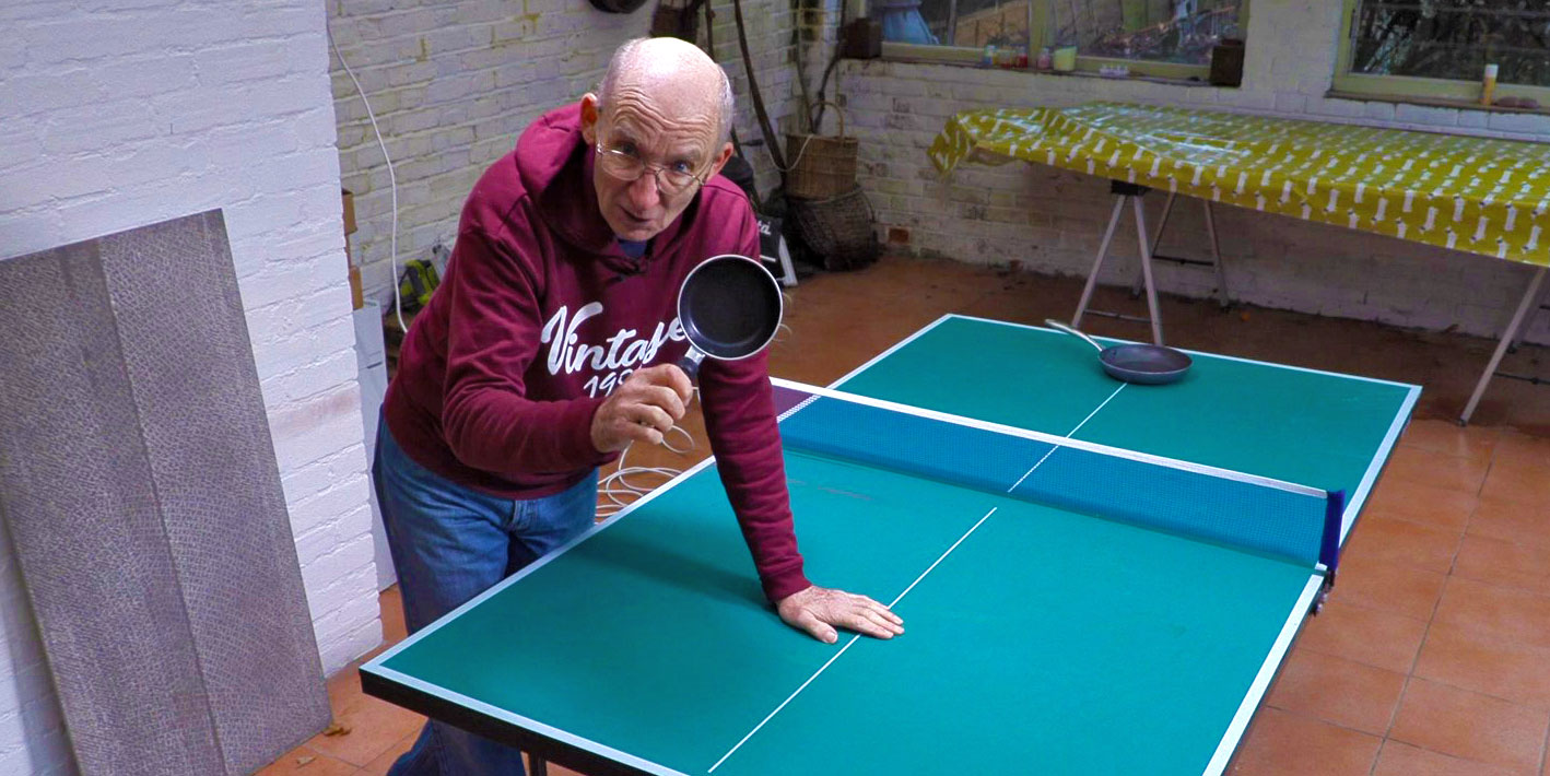 Table Tennis at 80